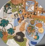 Two Judy Miller Glazed Earthenware Items, 1982 (Lot 967, Estimate $300-  $400)