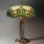 Mosaic Glass Table Lamp, later half 20th century (Lot 534, Estimate   $800-$900)