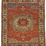 Serapi Carpet, Northwest Persia, last quarter 19th century (Lot 112, Estimate $12,000-$15,000)