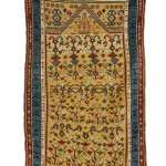 Daghestan Prayer Rug, Northeast Caucasus, last quarter 19th century (Lot 131, Estimate $12,000-$15,000)