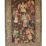 Lavar Kerman Pictorial Rug, Southeast Persia, late 19th/early 20th century (Lot 133, Estimate $10,000-$12,000)