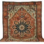 Serapi Carpet, Northwest Persia, last quarter 19th century (Lot 139, Estimate $20,000-$25,000)
