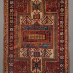 Kazak Rug, Southwest Caucasus (Lot 847, Estimate $400-$600)