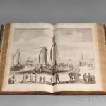 Blaeu, Joan (1596-1673) Novum ac Magnum Theatrum Urbium Belgicae Foederate (Lot 439, Estimate $15,000-$20,000)