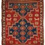 Kazak Rug, Southwest Caucasus, 19th century (Lot 1196, Estimate $300-  $500)