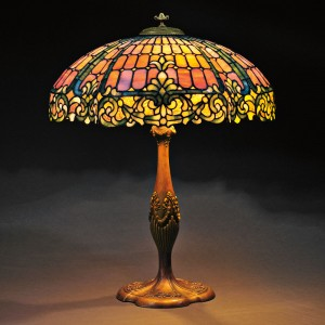 The Value Of Mosaic Glass Antique Tiffany Lamps And