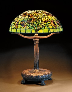 Ordinaire Tiffany Studios Black Eyed Susan Mosiac Glass Table Lamp, Art Glass And  Patinated Bronze, New York, Early 20th Century (Lot 46, Estimate  $20,000 $30,000)