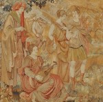 Figural Wool Tapestry, Northern Europe, 17th/18th century, (Lot 317, Estimate $3,000-$5,000)