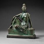 Figure of a Seated Woman, Allan Clark (American, 1896-1950) (Lot 575, Estimate $3,000-$5,000)
