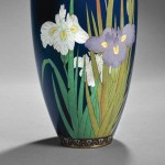 Cloisonne Vase, Japan, Meiji Period (Lot 393, Estimate $1,000-$1,200)
