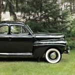 1941 Ford V-8 Super Deluxe Five-passenger Coupe (Lot 1, Estimate $20,000-$25,000)