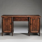 Late Regency Mahogany-veneered Sideboard, in the manner Gillows (Lot 515, Estimate $2,500-3,500)