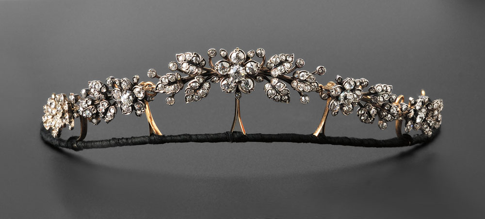 Diamond Tiara For Sale