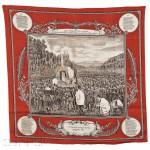 Printed Cotton Franco-Prussian War Yom Kippur Service Commemorative Textile   (Lot 94, Estimate $3,000-$5,000)