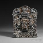 Russian Silver Torah Breast Plate, Assayer O.C., 1885 (Lot 108, Estimate $2,000-$3,000)