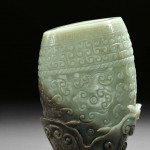 Jade Archaic-Style Vase, China, 19th/20th century (Lot 221, Estimate $8,000-$10,000)