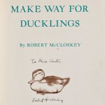 McCloskey, Robert (1914-2003) Make Way for Ducklings, First Edition, Inscribed. New York: the Viking Press, 1941 (Lot 332, Estimate $7,000-$9,000)