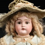 Kammer & Reinhardt 192 Bisque Socket Head Child Doll, Germany, late 19th   century (Lot 12, Estimate $300-$500)