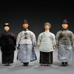 Four Door of Hope Mission Dolls, China, early 20th century (Lot 21, Estimate $200-$300)