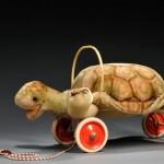 Steiff Tortoise Pull-toy, Germany, 20th century (Lot 52, Estimate $200-  $250)