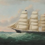 Attributed to William Howard Yorke (American, 1847-1921) Portrait of the American   Clipper Ship HELEN CLINTON Captain Stephen C. Sprague, Master (Lot 252, Estimate   $20,000-$25,000)