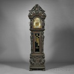Tiffany Quarter-chiming Tubular Bell Tall Clock (Lot 309, Estimate $60,000 -$80,000)