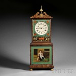 Joshua Wilder Mahogany Shelf Clock, Hingham, Massachusetts, c. 1815 (Lot   472, Estimate $30,000-$50,000)