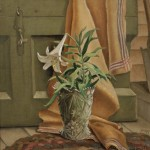 Carl Gustaf Simon Nelson (American, 1898-1988) Still Life with an   Easter Lily (Lot 166, Estimate $1,000-$1,500)