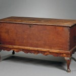 Bermuda Queen Anne Cedar Chest on Frame, c. 1760 (Lot 687, Estimate   $600-$800)
