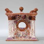 Sunderland Marbled Lustre Watch Hutch, England, early to mid-19th   century (Lot 981, Estimate $300-$500)