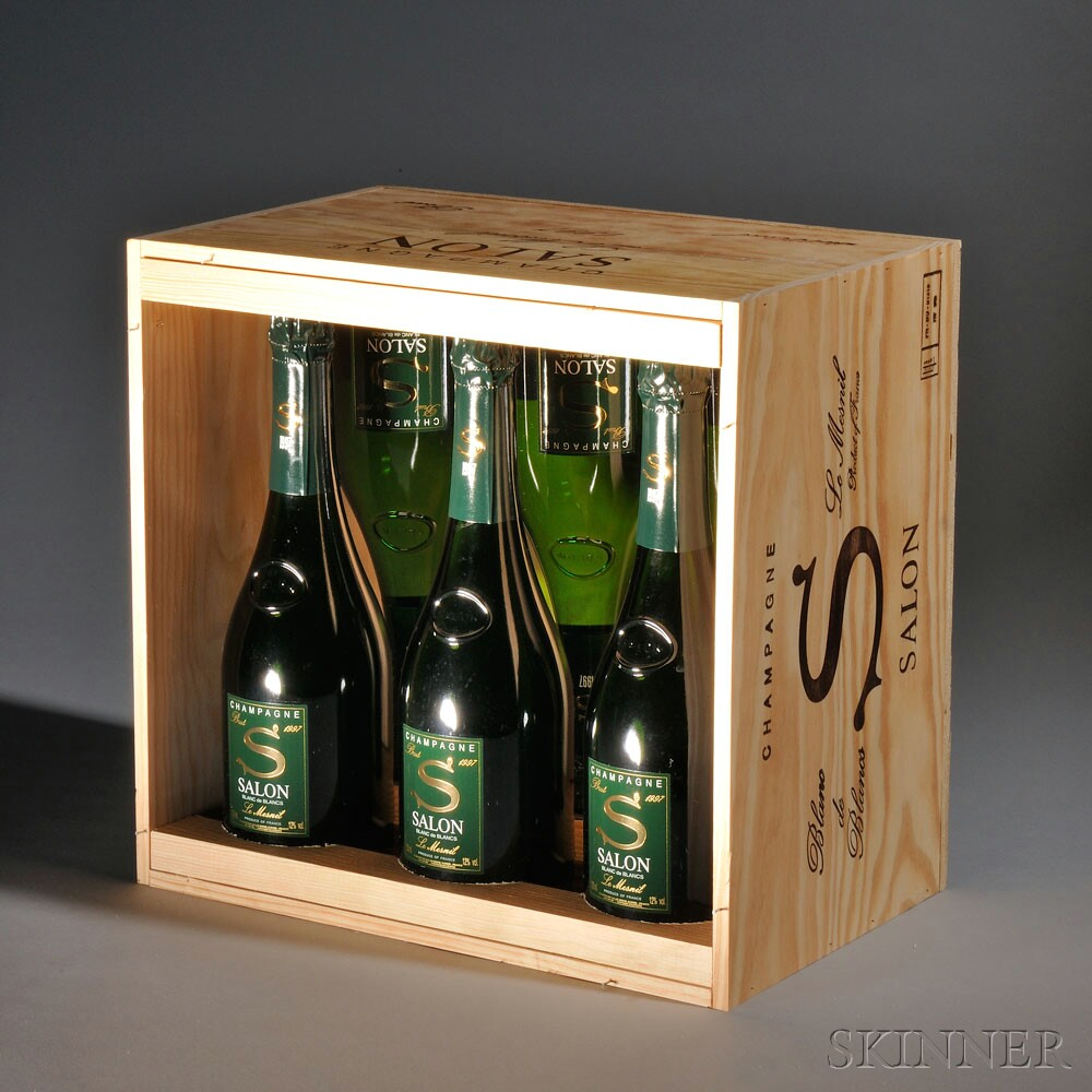 Fine wines online sale 2689t skinner auctioneers for 1997 champagne salon