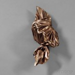 Lynda Benglis (American, b. 1941)  Untitled (Knot), Unsigned,   c. 1980 (Lot 517, Estimate $3,000-$5,000)