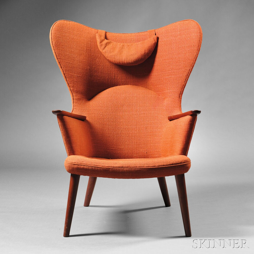 Hans wegner mama bear chair a p stolen copenhagen denmark 1950s lot 353 estimate 4000 6000