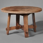 Gustav Stickley Eastwood Table, New York, c. 1902 (Lot 85,   Estimate $2,000-$3,000)