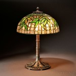 Tiffany Studios Bamboo Table Lamp, New York, early 20th century (Lot 90, Estimate $30,000-$50,000)