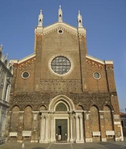 Basilica Santa Maria Gloriosa Dei Frari in Venice, Italy