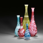 A Selection of Cameo Glass (Lots 471-475)
