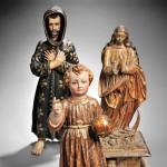 Spanish Colonial Santos Figures (Lots 721-723)