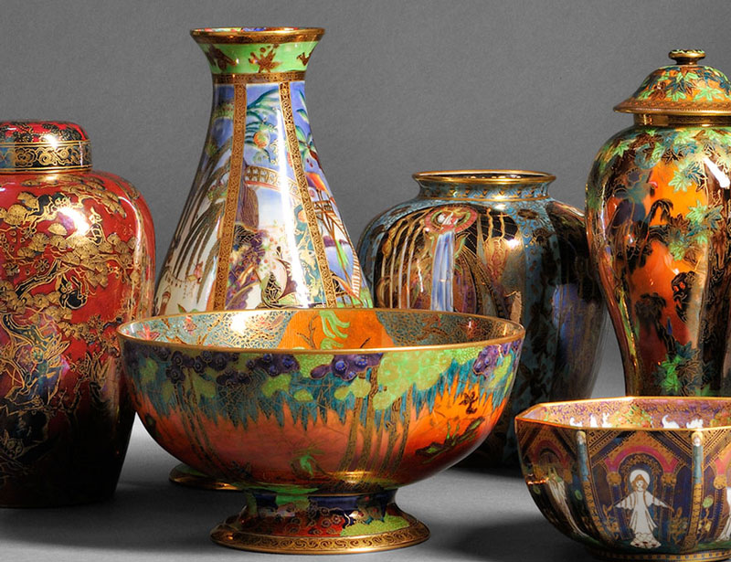 From an Extensive Private Collection of Wedgwood Fairyland Lustre