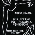 Anselm Stalder (Swiss, b. 1956) DER UMFANG DES FASSUNGSVERMÖGENS (THE LIMITS OF PERCEPTION) (Lot 110, Estimate $700-$900)