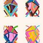 William Thomas Williams (American, b. 1942) HKL Potfolio/Suite of Four Works, 1970 (Lot 120, Estimate $3,000-$5,000)