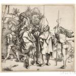 Albrecht Dürer (German, 1471-1528) Five Soldiers and a Turk on Horseback, c. 1495-96 (Lot 35, Estimate $2,000-$3,000)