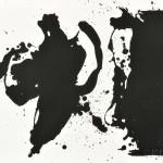 Robert Motherwell (American, 1915-1991) Elegy (Study), 1979 (Lot 85, Estimate $4,000-$6,000)