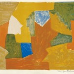 Serge Poliakoff (Russian, 1906-1969) Composition in Yellow, Orange, and Green, 1957 (Lot 96, Estimate $2,000-$2,500)