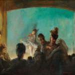 Everett Shinn (American, 1876-1953), Paris Theatre (Lot 516, Estimate   $50,000-$70,000)