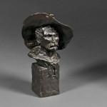 Frederic Remington (American, 1861-1909), The Sergeant, 1904 (Lot 435,   Estimate $25,000-$50,000)