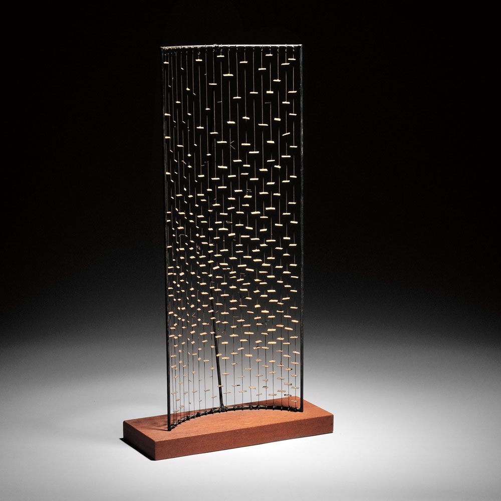 Harry Bertoia (American, 1915-1978), Maquette for the MIT Kresge Chapel Altar Screen,   c. 1950-1955 (Estimate $70,000-$90,000)