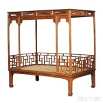 Six-post Tester Bed, China (Lot 421, Estimate $600-$800)