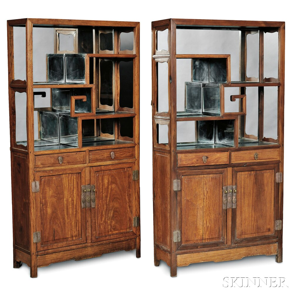 Pair of Display Cabinets, China (Lot 436, Estimate $1,500-$2,500)