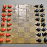 Peter Soriano (American, b. 1959) Chess Set. Unsigned (Lot 263, Estimate $300-$500)